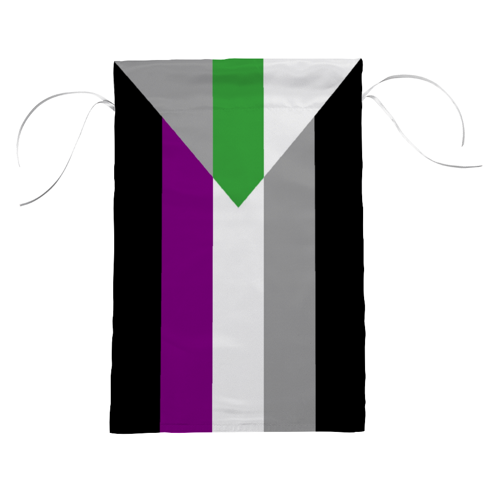 Demiromantic Asexual Pride Flag | The Rainbow's Brand