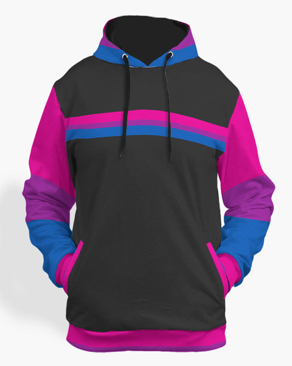 Bisexual hoodie-The Rainbow's Brand