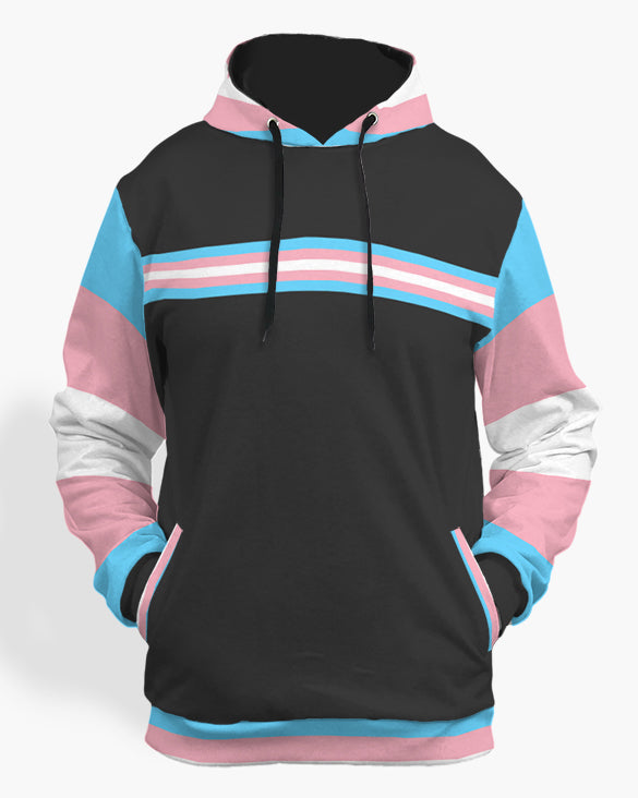 Tansexual color hoodie-The Rainbow's Brand