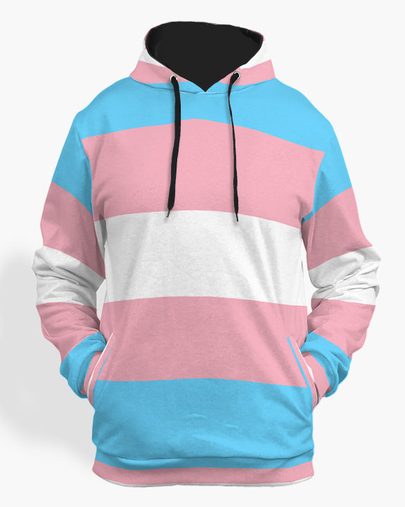 Transexual flag hoodie-The Rainbow's Brand