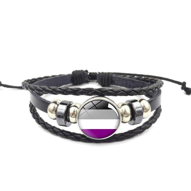 Lgbt Bracelet Asexual | The Rainbow's Brand