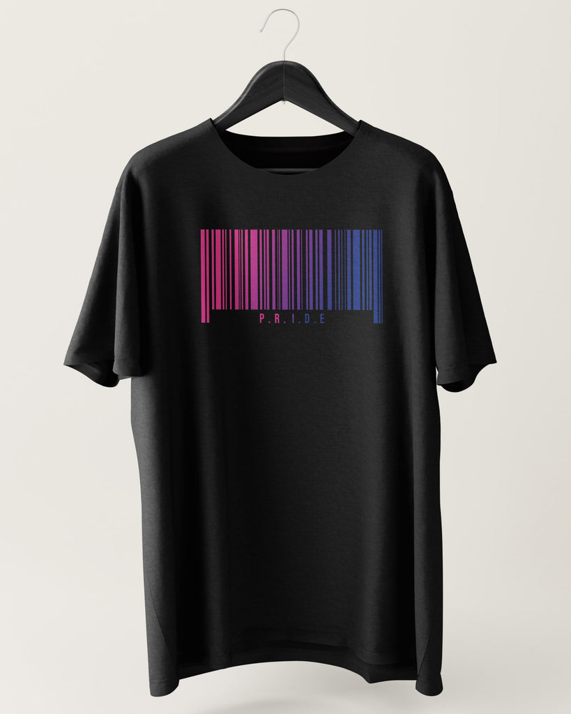 Bisexual Barcode Shirt | The Rainbow's Brand