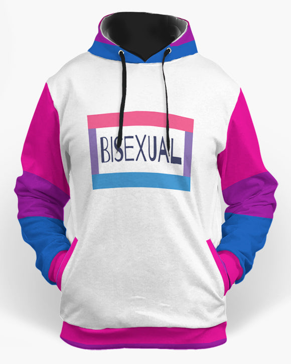 bisexual trb <br> hoodie-The Rainbow's Brand