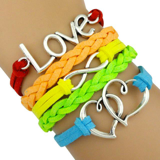 Lgbt Bracelet Love | The Rainbow's Brand