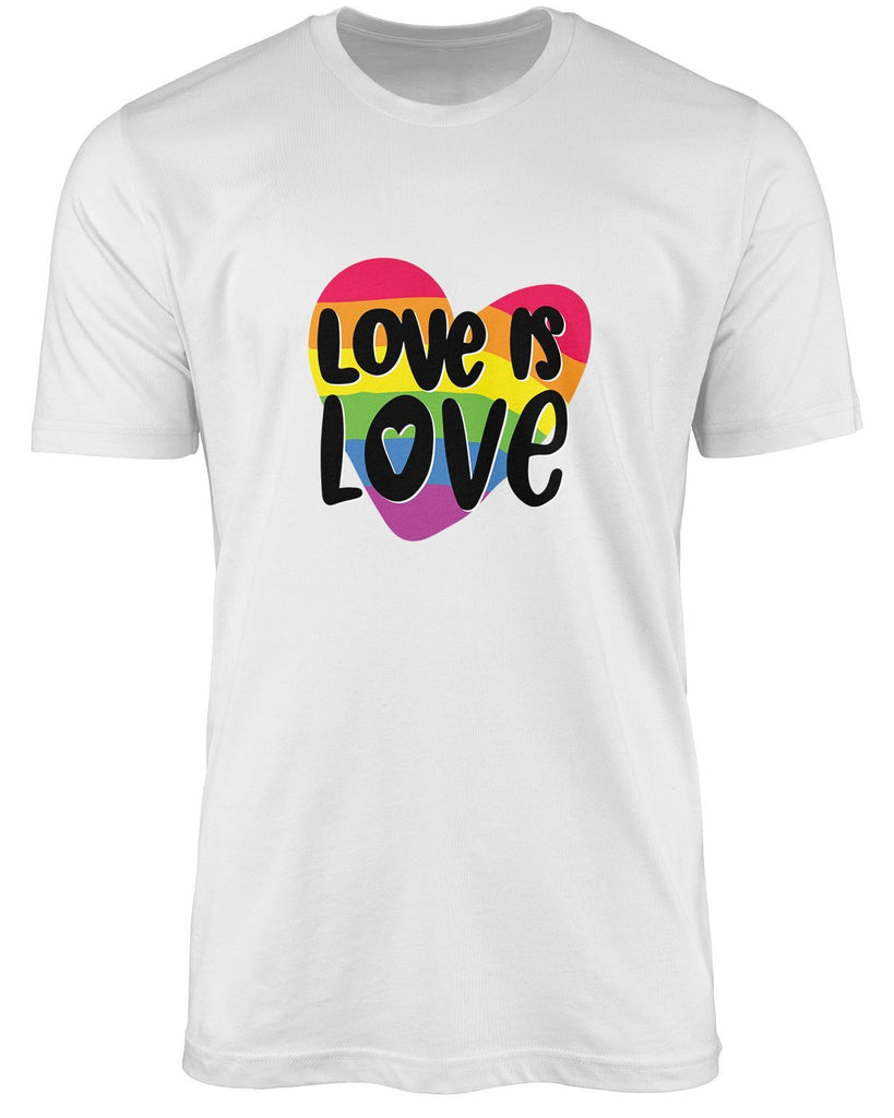 Love is love LGBT shirt by The Rainbow's brand - Best Rainbow colors shirt