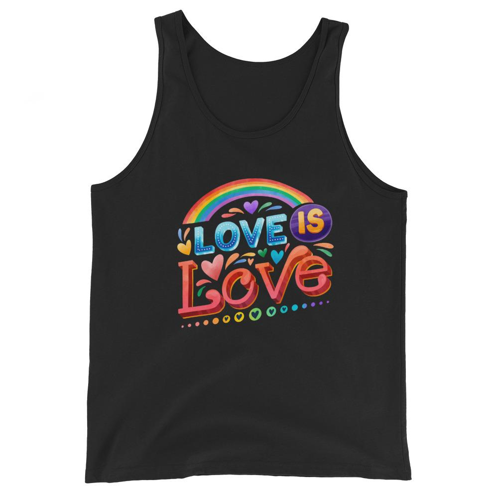 Love Is Love Tank Top | The Rainbow's Brand