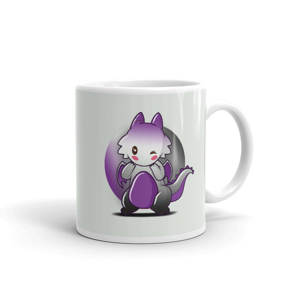 asexual dragon mug