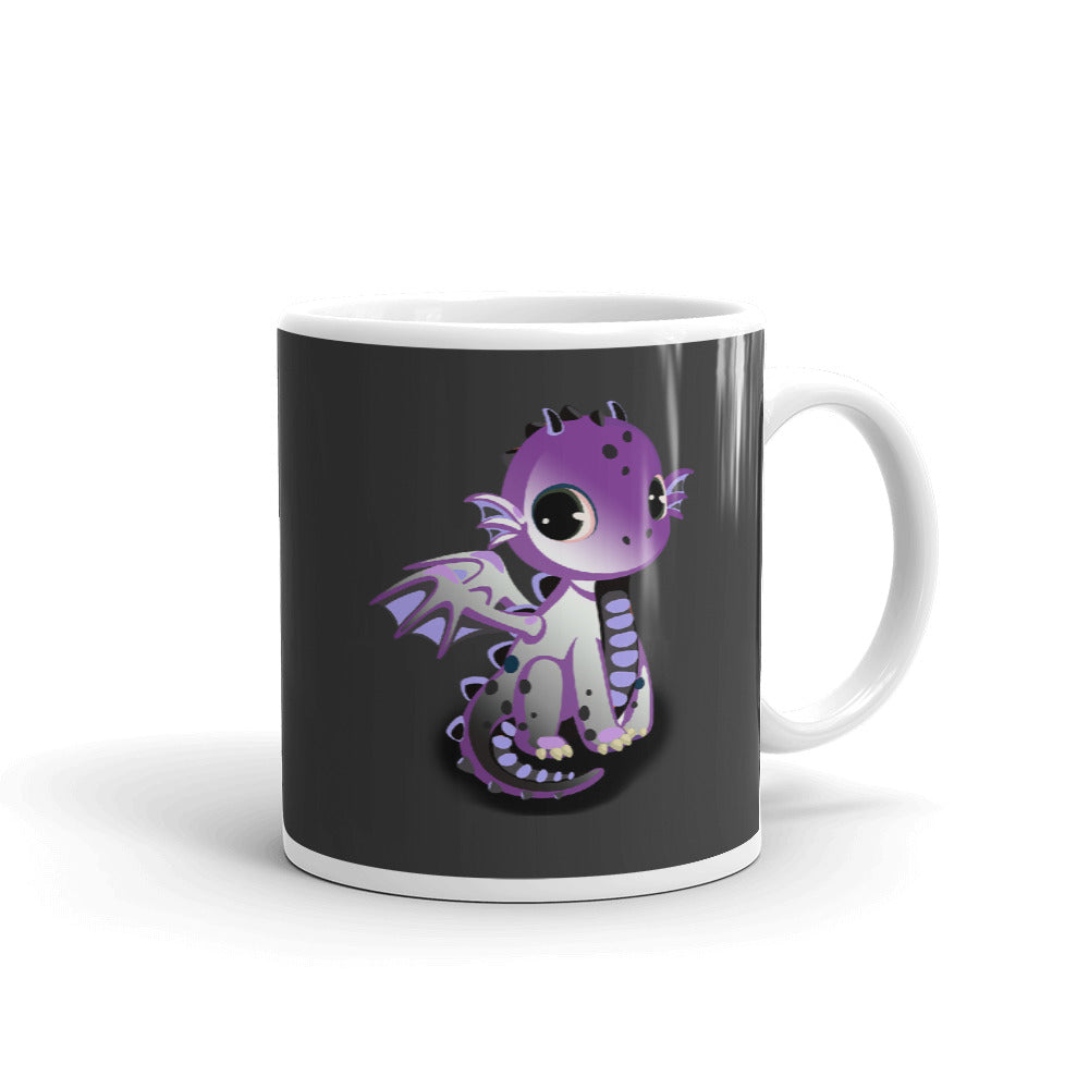 asexual dragon coffee mug