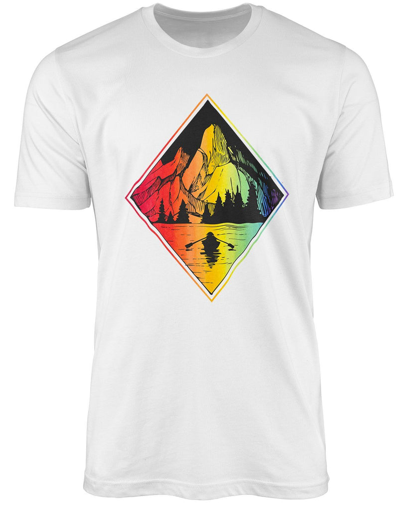 Mountain LGBT shirt by The Rainbow's brand - Best Rainbow colors shirt