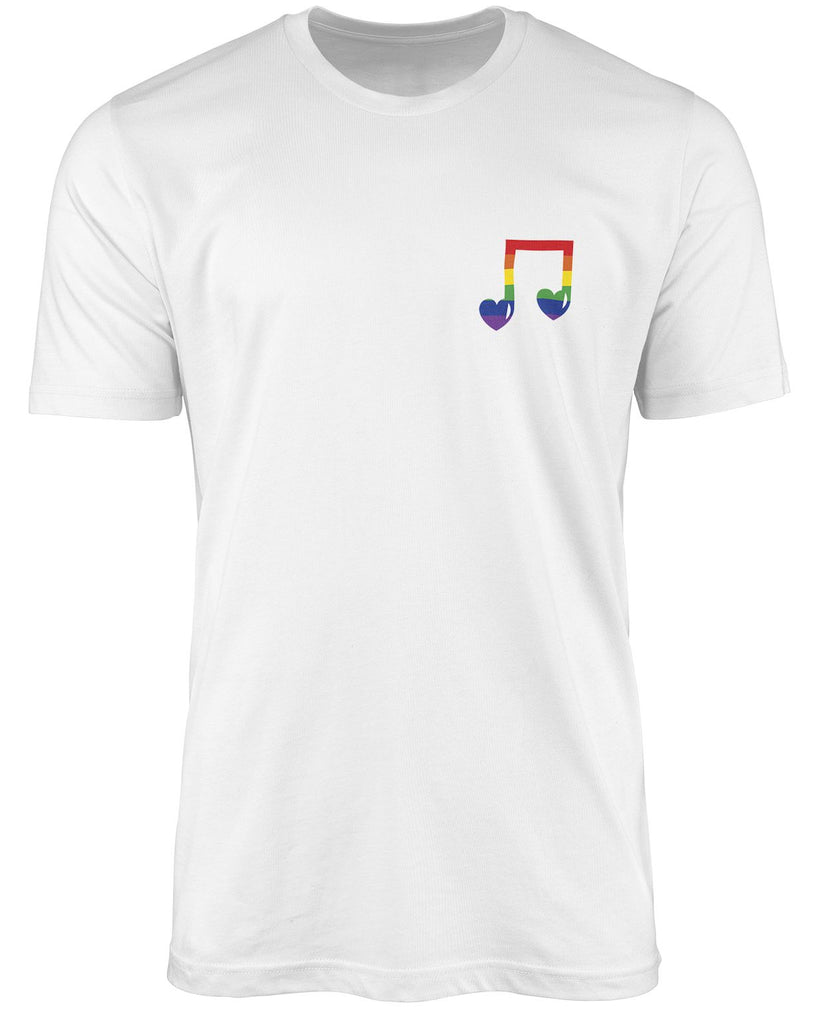 Music LGBT shirt by The Rainbow's brand - Best Rainbow colors shirt
