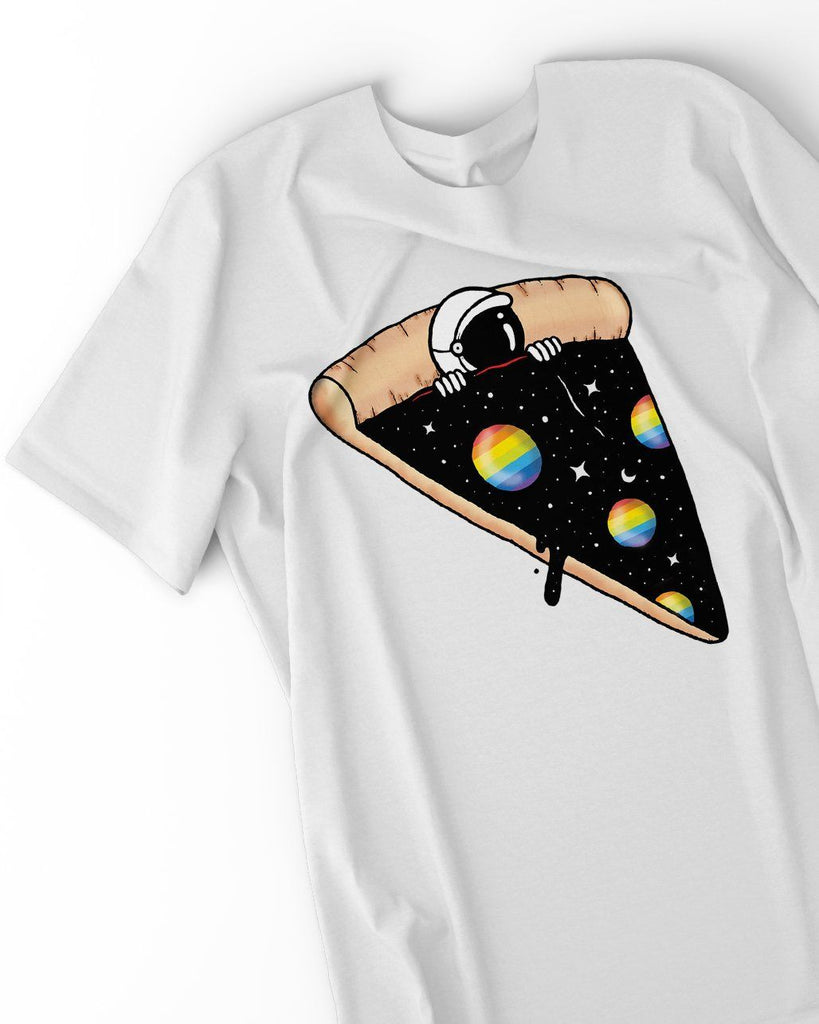 Pizza LGBT shirt by The Rainbow's brand - Best Rainbow colors shirt
