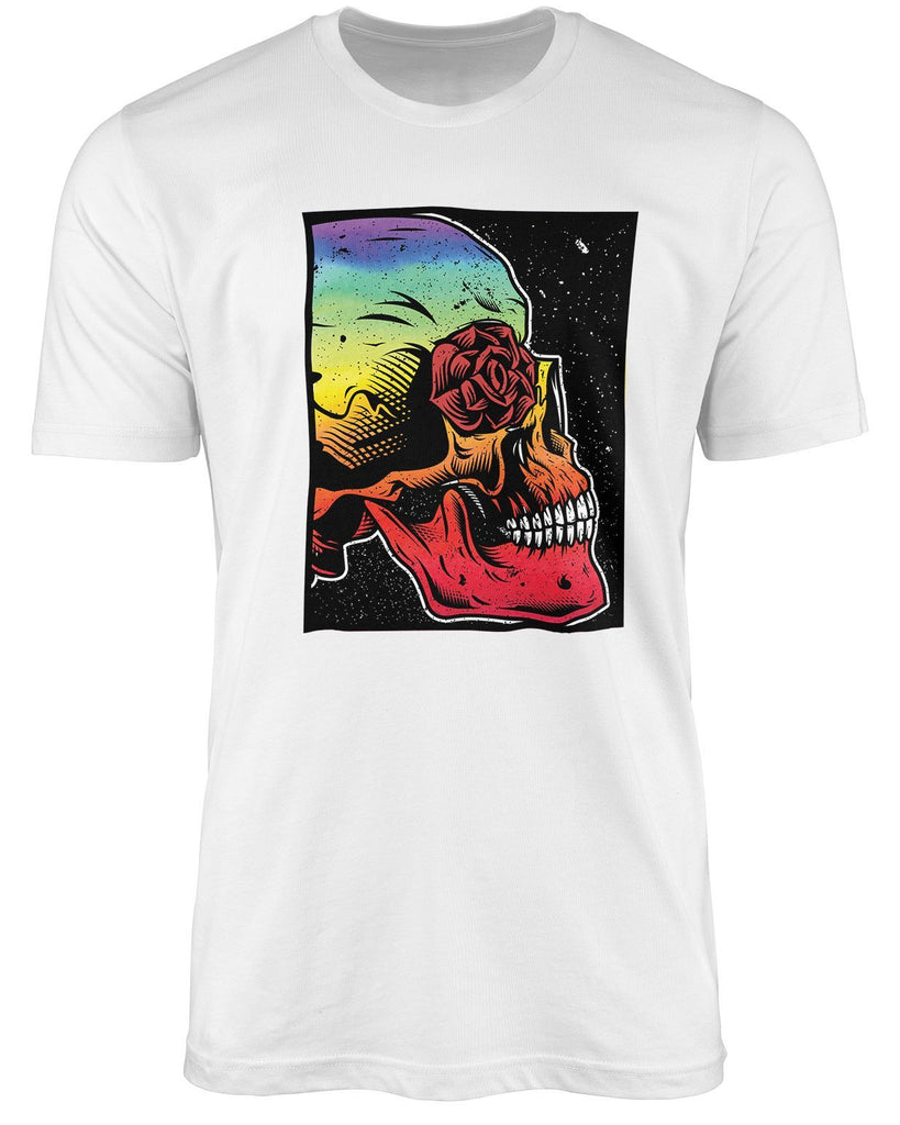 Skull LGBT shirt by The Rainbow's brand - Best Rainbow colors shirt
