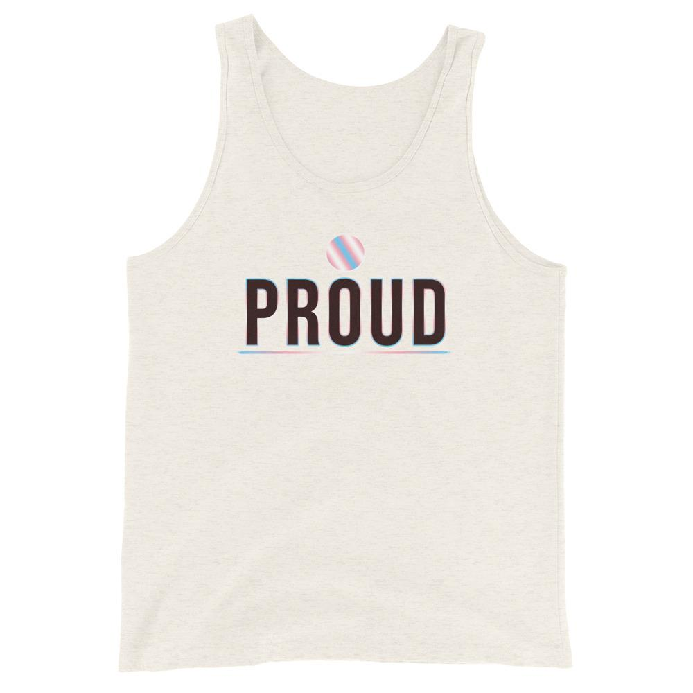trans pride tank top | The Rainbow's Brand