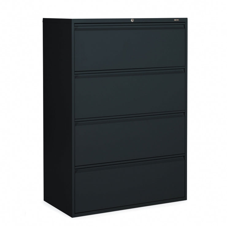 "Global 4 Drawer Lateral File Cabinet - 36""W (1936P-4F12) - Joe's Discount Office Furniture"