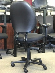 Steelcase Criterion - Black on Black - High Back - Fully Refurbished