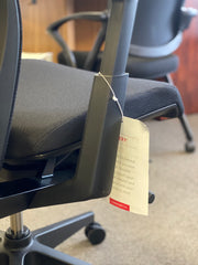 Haworth Very - Task Chair - Fully Featured - Black on Black - Brand New