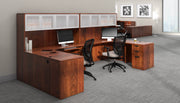 Credenza with Right Corner Extension - SL7136CER-ADC - Joe's Discount Office Furniture
