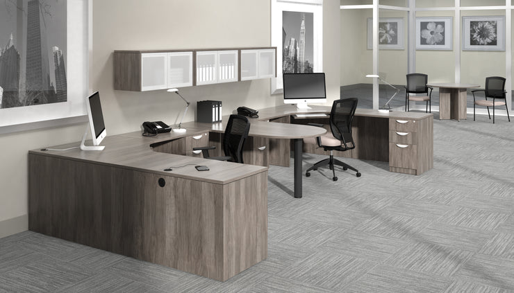 "Island Desk - 71""W x 36""D - Joe's Discount Office Furniture"