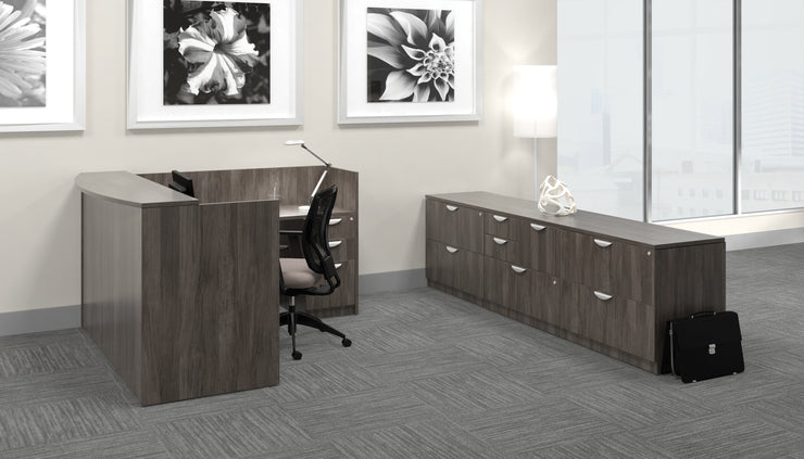 "Reception Return - 42""W - Joe's Discount Office Furniture"