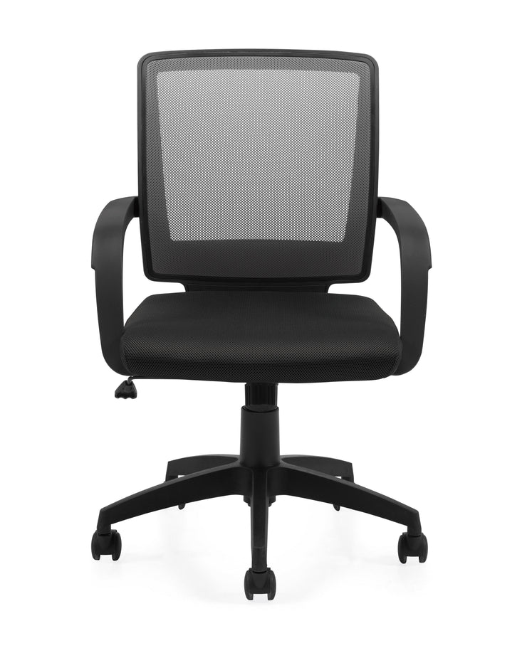 Mesh Back Managers Chair - OTG10900B - Front View - Joe's Discount Office Furniture