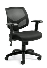 Mesh Back Managers Chair - JD11514B - Joe's Discount Office Furniture