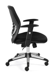Mesh Mid-Back Managers Chair - JD11686B - Joe's Discount Office Furniture