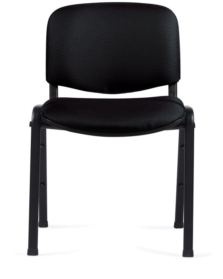 Armless Stack Chair - OTG11704 - Front View - Joe's Discount Office Furniture
