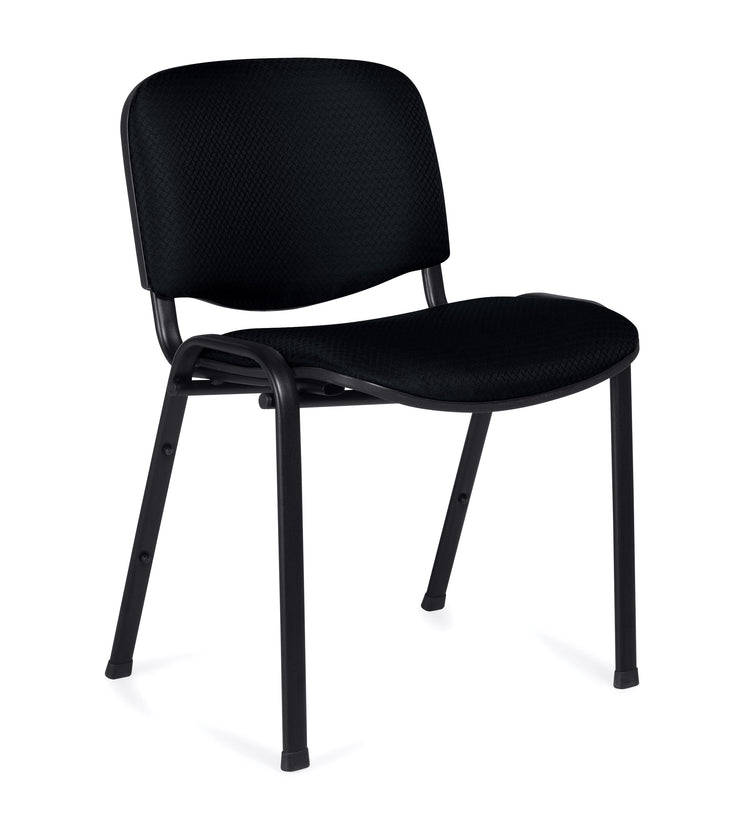 Armless Stack Chair - OTG11704 - Angled View - Joe's Discount Office Furniture