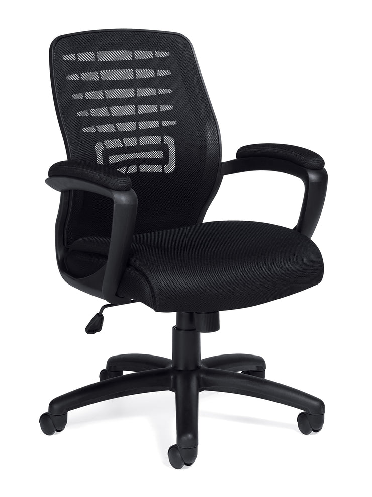 Mesh Back Managers Chair - JD11750B - Joe's Discount Office Furniture