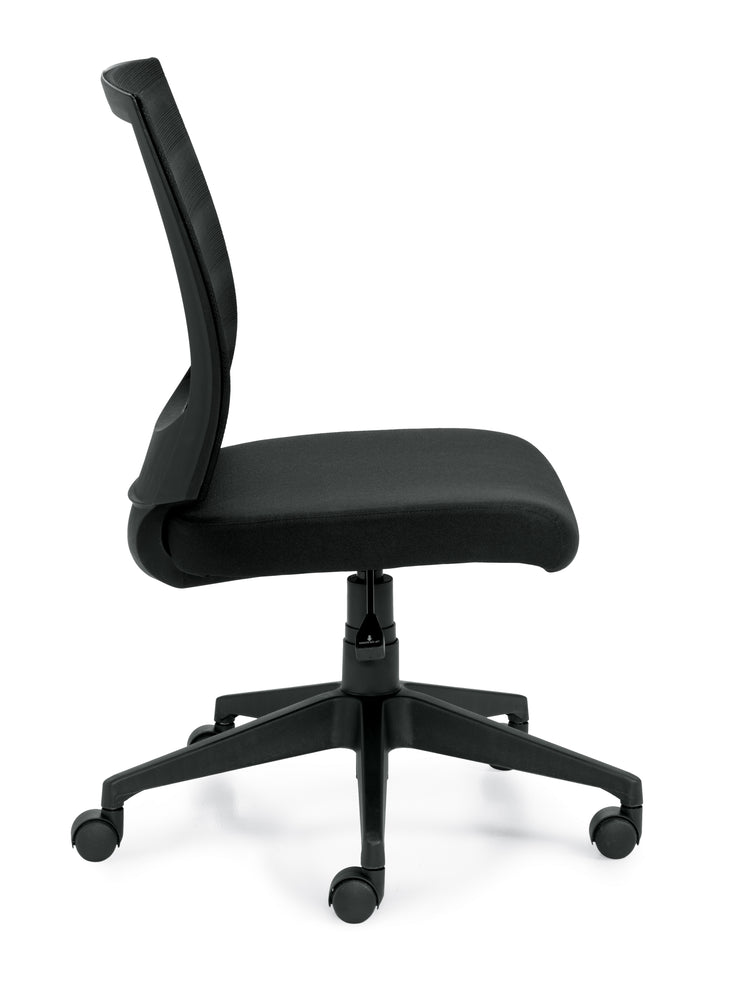 Mid Back Armless Task Chair - JD11922B - Joe's Discount Office Furniture