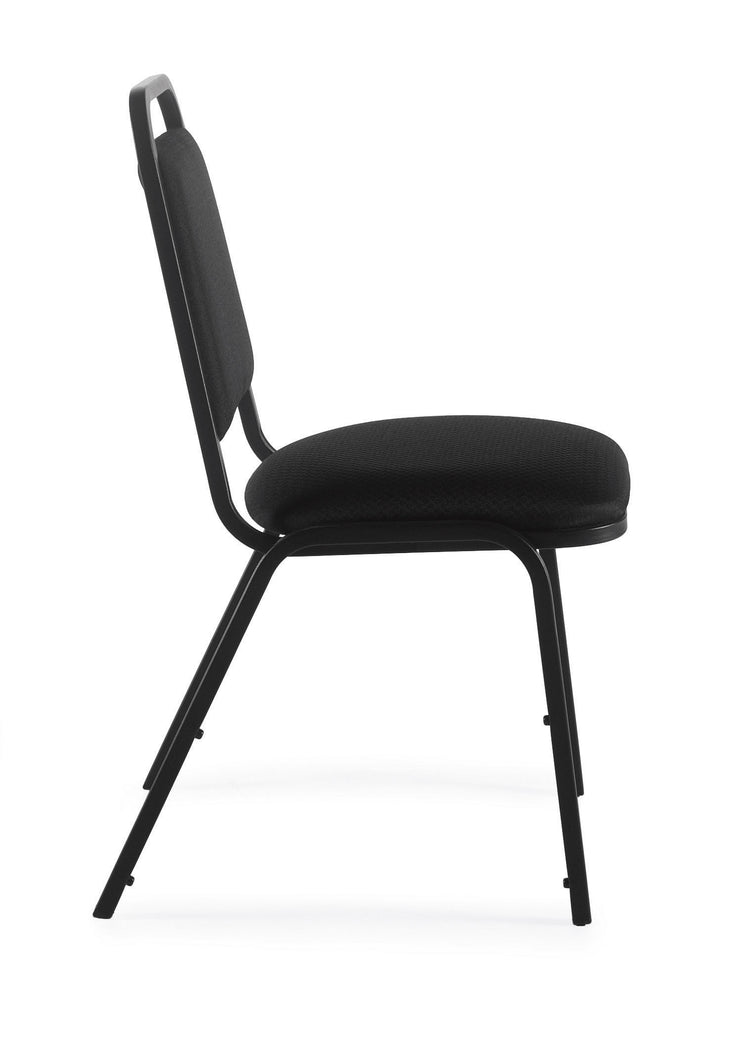 Armless Stack Chair - OTG11934 - Side View - Joe's Discount Office Furniture