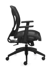 Mesh Seat Synchro-Tilter Chair - JD2821 - Joe's Discount Office Furniture