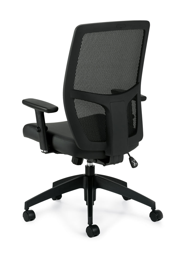 Mesh Back Management Chair - JD3191B - Joe's Discount Office Furniture
