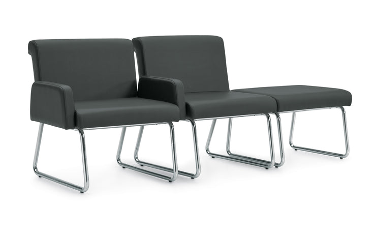 Modular Lounge Seating - Armless Single Seat - JD5001NA - Joe's Discount Office Furniture