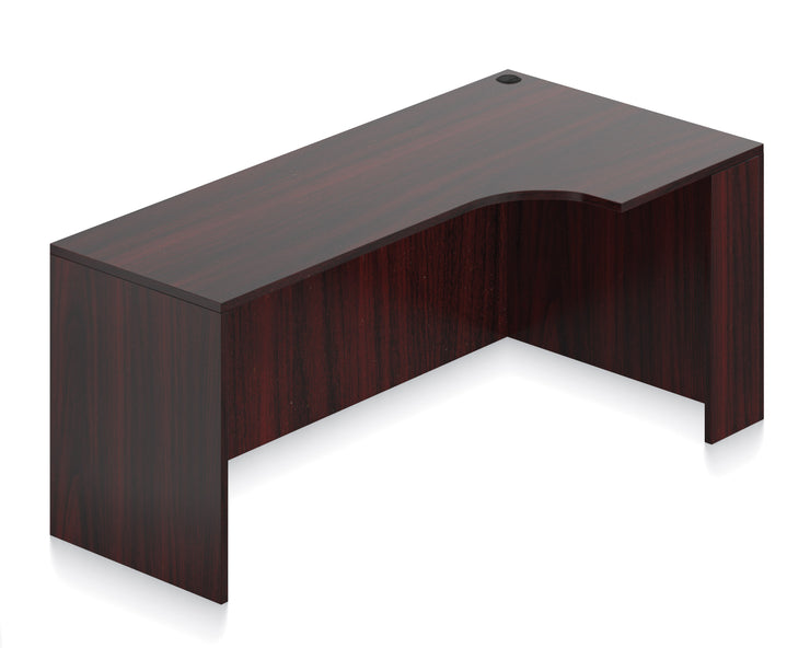 "Credenza with Right Corner Extension - 71""W - Joe's Discount Office Furniture"