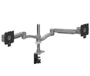 Global - Monitor Arms - Dual Screen - Double Extension - Height Adjustable Pole Base - (MON2SDEH) - List Price: $936 - Joe's Discount Office Furniture