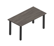 Square Post Rectangular Tables (Black)