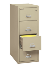 Fire King - Fireproof 4 Drawer Vertical File Cabinet - Pre-Owned