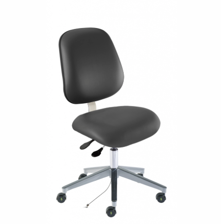 BIOFIT Ergonomic Vinyl Chair - Brand New in the Box! (AMW-L-RK)(Anti-Bacterial)
