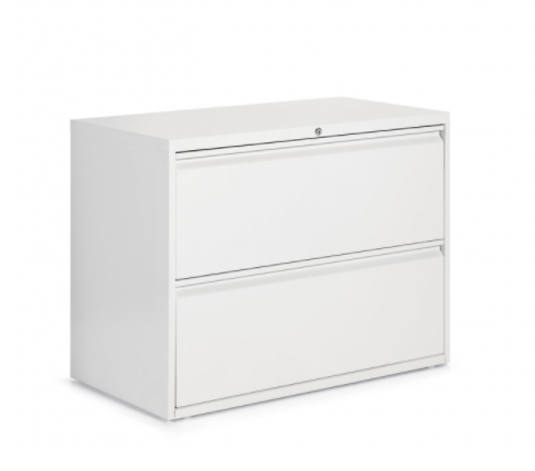 "Global 2 Drawer Lateral File Cabinet - 36""W (9336P-2F1H)"