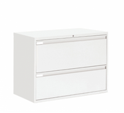 "Global 2 Drawer Lateral File Cabinet - 42""W (9342P-2F1H)"