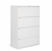 "Global 4 Drawer Lateral File Cabinet - 36""W (9336P-4F1H)"
