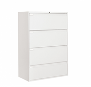 "Global 4 Drawer Lateral File Cabinet - 42""W (9342P-4F1H)"