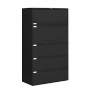 "Global 5 Drawer Lateral File Cabinet - 42""W (9342P-5F1H)"