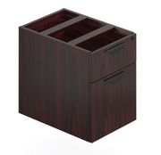 "Pedestal - Hanging Drawer/File (Does not touch floor) - 22""D - Joe's Discount Office Furniture"