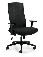 Mesh Back Executive Chair - JD11980B - Joe's Discount Office Furniture