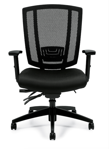 Upholstered Seat and Mesh Back Multi-Function - JD3103 - Joe's Discount Office Furniture