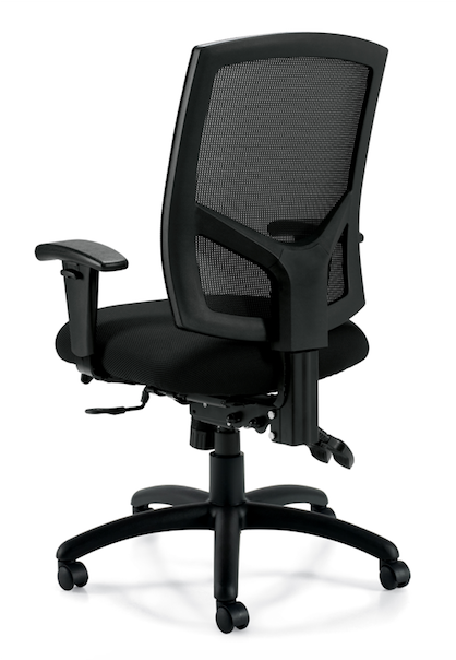 Mesh Back Multi-Function Chair with Arms - JD11769B - Joe's Discount Office Furniture