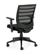 Mid Back Management Chair - JD11921B - Joe's Discount Office Furniture