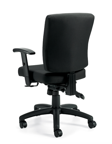 Multi-Function Chair with Arms - JD11950B - Joe's Discount Office Furniture